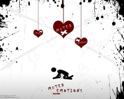 Muted Emotions Wallpaper by Hellknight10