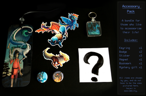 Accessory super pack! Items, art and MORE~-RESERVE by Taluns