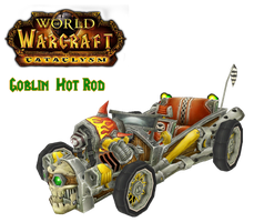 WoW Cataclysm Goblin Hot Rod by atagene