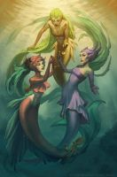 ASCENSION: Three of Cups by Enchantress-LeLe