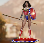 Wonder Woman [test] by Retribution3D