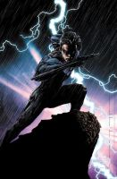Nightwing Coloured 2 by NineteenPSG
