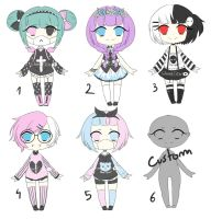 Pastel Goth Adopt [OPEN] by SweetyKei