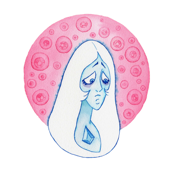 Blue Diamond - Steven Universe - Crystal Gems by Alba-R-Luque