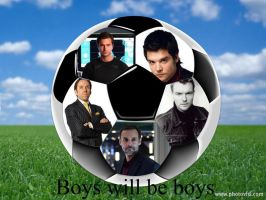 Boys will be Boys by Mrs-Connor-Temple