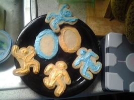 Portal Cookies by Imaplatypus