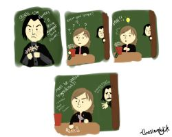 Snape in love by thesimplylife