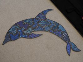 Sharpie Dolphin by meralies