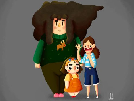 Happy Family by Mr-Honney