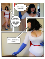 Power Girl's Ring Peril page 1 by ares12