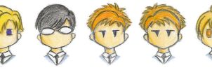 Ouran Chibis by sketchex