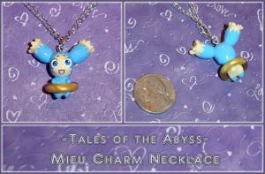 Tales of the Abyss Mieu Charm by YellerCrakka