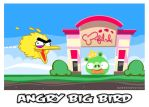 Angry Bird by Banzchan
