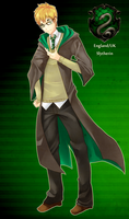 APH Hetalia UK Crossover: Slytherin by ran4koak