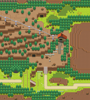 Route 112 remake by Pokemon-Diamond