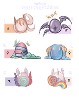 Mystery Egg Adoptables ::CLOSED:: by jellyflavoured