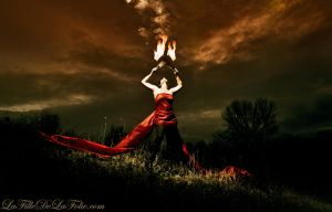 Lady of Fire - Holy Fire by Lady-Spitfire