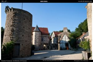 Medieval village 3 by Wess4u