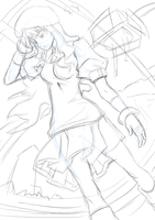 Sheryl Nome WIP by ComiPa
