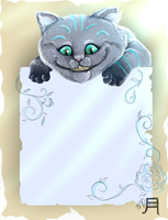 Cheshire Cat Journal Skin by little-space-ace