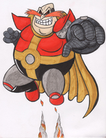 Robotnik Punch Coloured by Rabid-Fangirl212