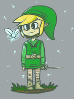 Link in the forest by baracai