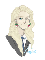 Harry Potter - Luna Lovegood by KlodwigLichtherz