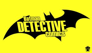 2011 The New 52 Detective Comics Title Logo by HappyBirthdayRoboto