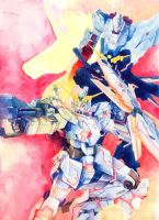 RX-0 Gundam Unicorn by vforvengeance
