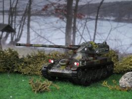 AMX 13-105 by the lake by Baryonyx62