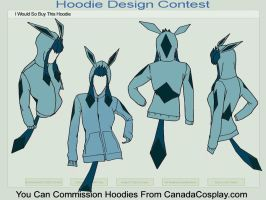 Glaceon Hoodie by alexisdore