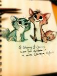 Babeh fooxehs :3 by Shenny-Shendelier
