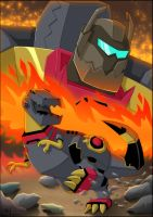 TFA - Grimlock Feature Page by Lizkay