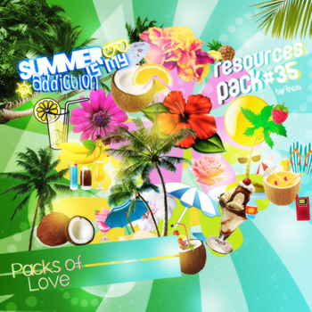 Summer Png Pack (3) by IremAkbas
