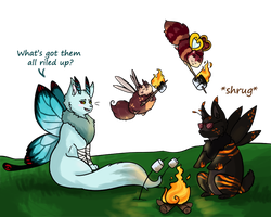 [Mothscouts Collab] Fire... safety? by Arquerite