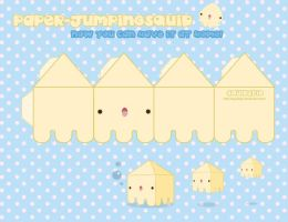 Paper Jumping Squid by SquidPig