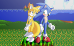 Tailsko and Sonic WallPapers by ZanaGB