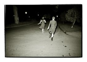 Running at night by mtrutledge