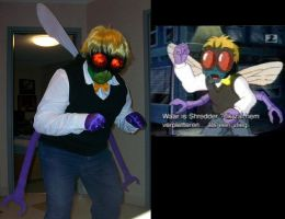 Baxter Cosplay comparison by Orannis0