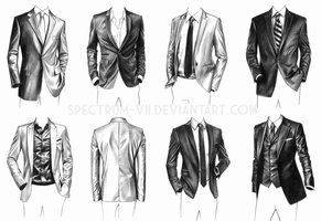 A study in suits by Spectrum-VII