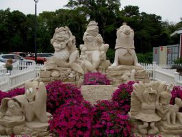 Sand Sculptures III by TriciaStucenski