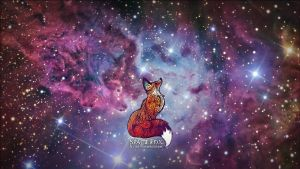 Space Fox by nellmeowmeow (wallpaper request) by bbboz
