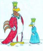 Royal Fowl by Jose-Ramiro