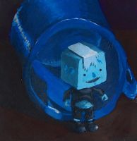 Ice Cube Robot by nazzara