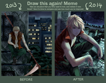 Draw Again Meme 2013 - 2014 by Pinlin