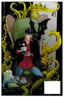 Dylan Dog coloring by MeloMonaco