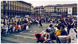 Pillow Fight in Milan by nervo86