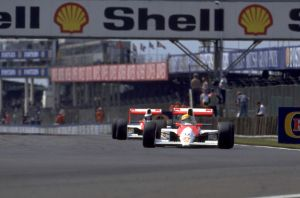Ayrton Senna | Gerhard Berger (Great Britain 1990) by F1-history