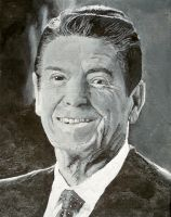 Ronald Reagan by joshthecartoonguy