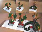 snivy evoltion by epikachu